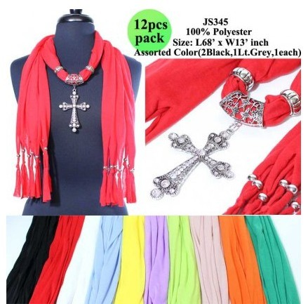 SEO_COMMON_KEYWORDS New style cross jewelry scarf with beads wholesale in USA