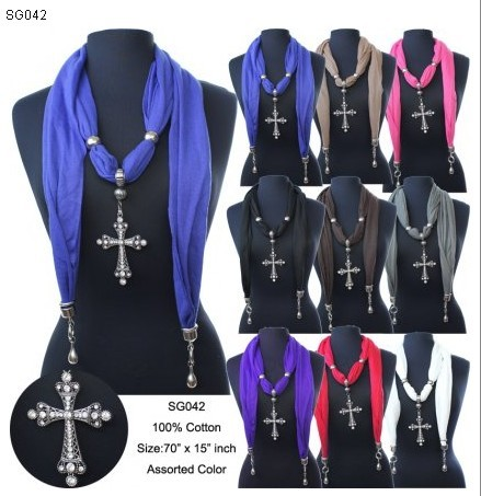SEO_COMMON_KEYWORDS 2013 Cross style jewelry and beads winter scarves wholesale