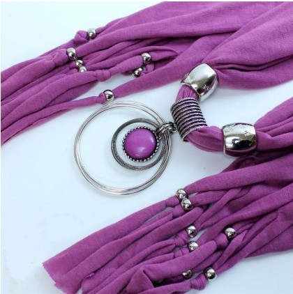 Round Resin drop pendant necklace scarf wholesale 2013