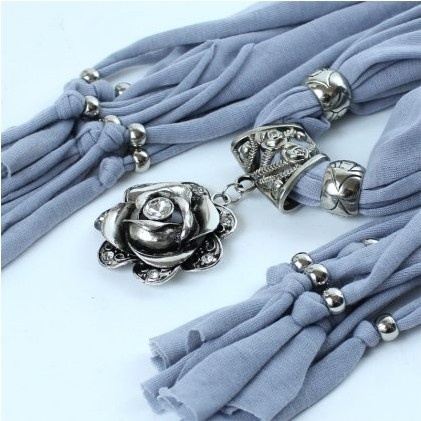 Rose Flower fashion jewelry scarves hot selling