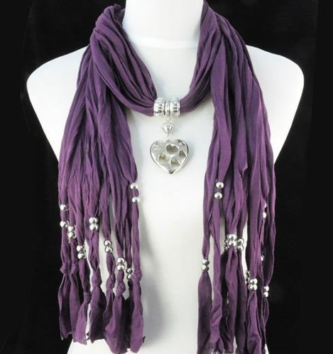 SEO_COMMON_KEYWORDS UK purple heart style fashion long scarves wholesale