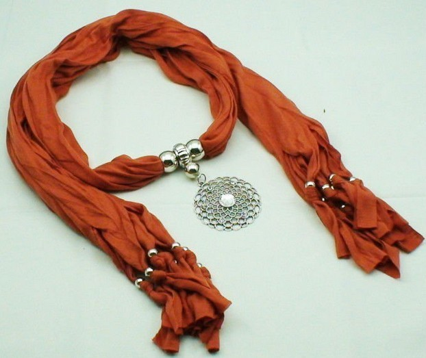 Round designs jewelry scarf wholesale Dallas - Click Image to Close