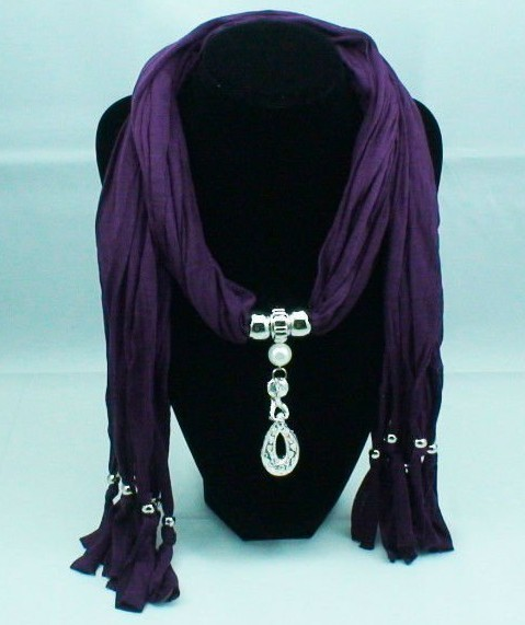 Jewelry scarves with classic style pendants on sale
