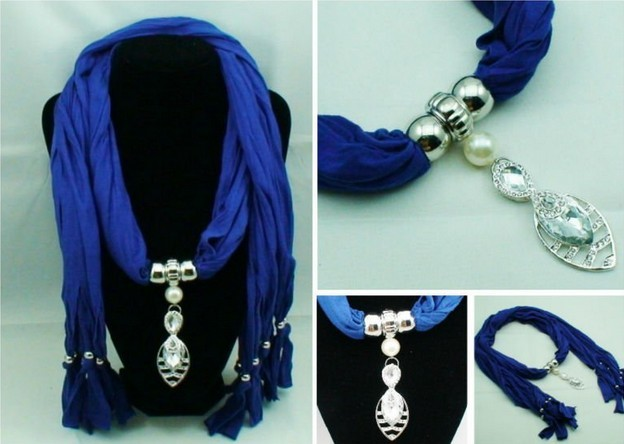 2013 Western Designs jewelry scarf wholesale in Paris