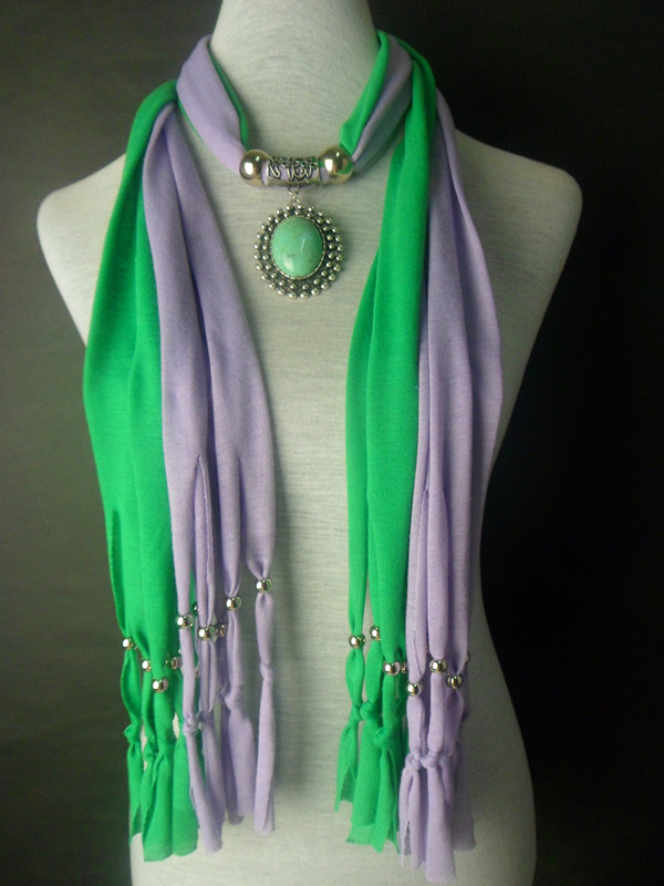 2013 Two Colors Mixed jewelry scarf Wholesale