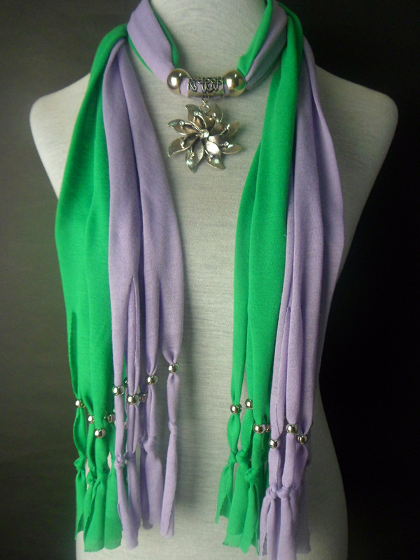 2013 Jewelry Pendant Scarf 2 Colors Wholesale