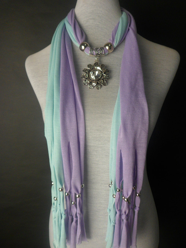 New Fashion Colors Mixed jewelry scarves wholesale