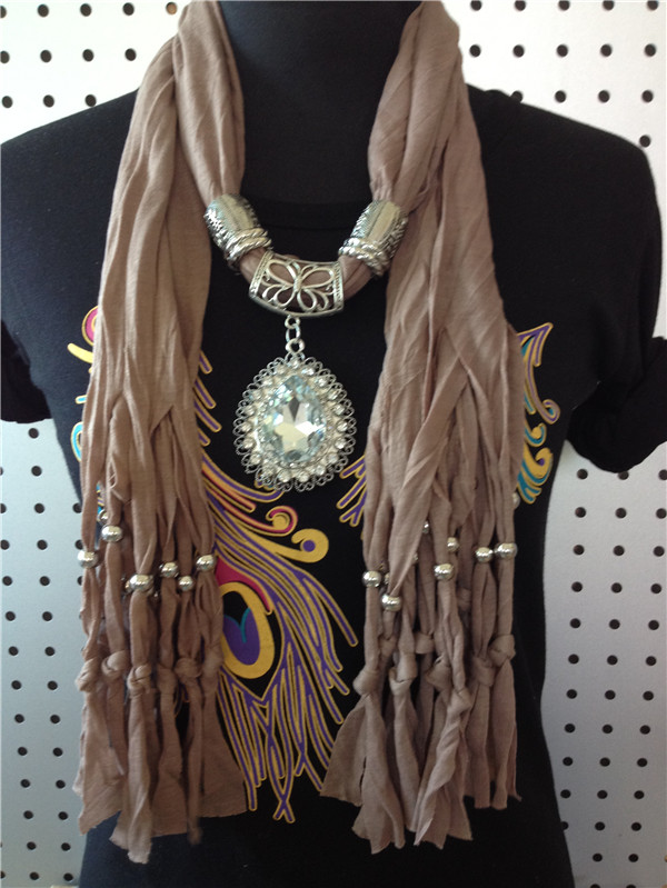 SEO_COMMON_KEYWORDS Super big charm pendant scarf for lady