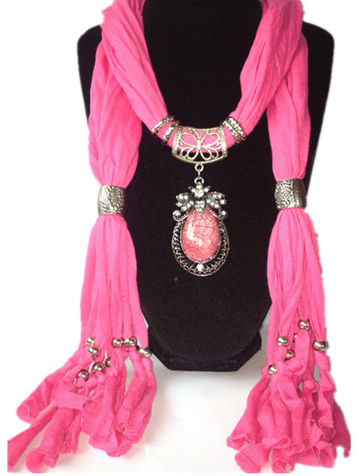 1 Oversize RHINESTONE Jewelry Scarf For Women