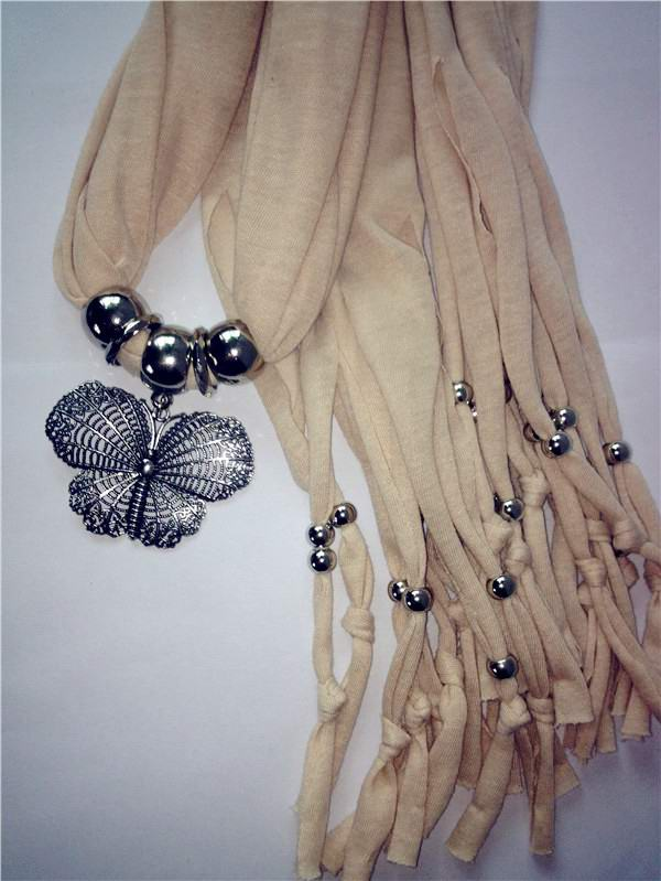 1 USA Jewelry Scarves with Butterfly pendants attached