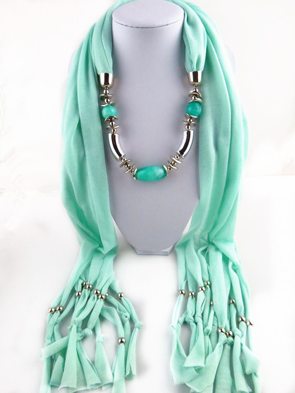 14 New design Scarf Necklace USA