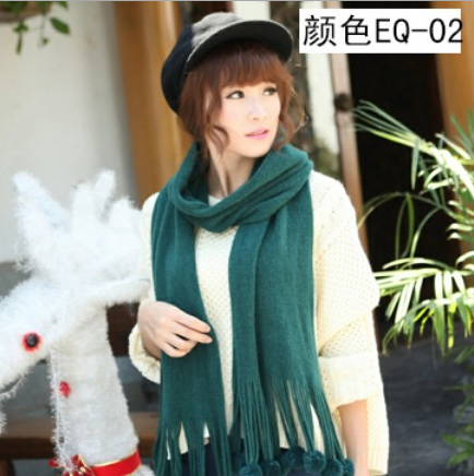 New Knit scarves with christmas design