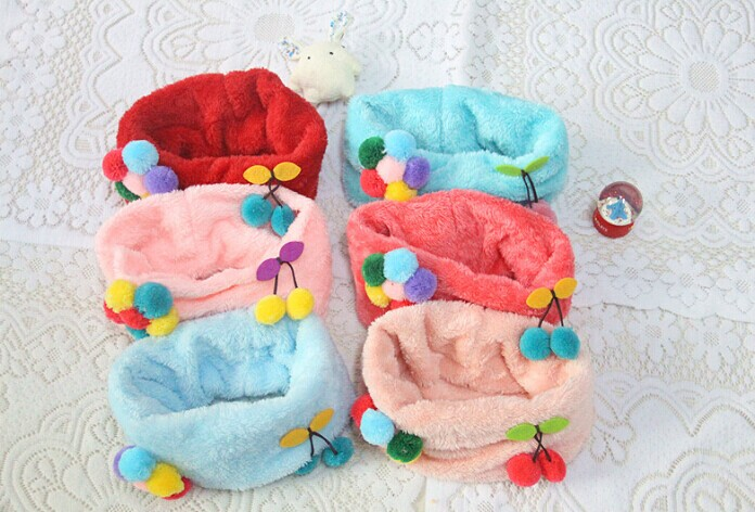 Stuffed Circle Scarves for Kids Wholesale Online
