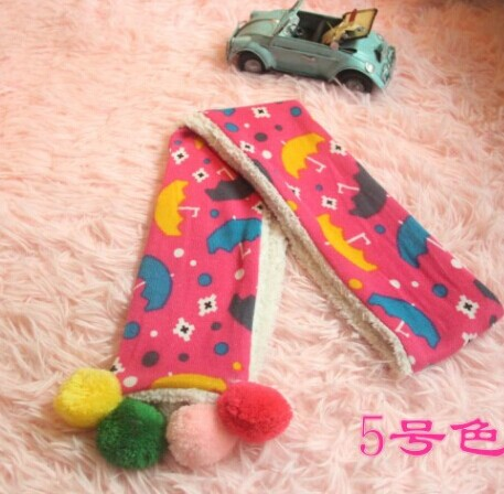 Beautiful Cartoon Pattern Kids Scarves Online
