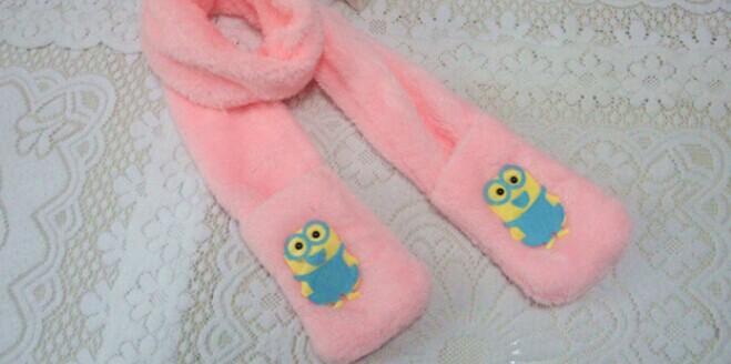 Canada Popular Plush Kids Scarf Online for Sale