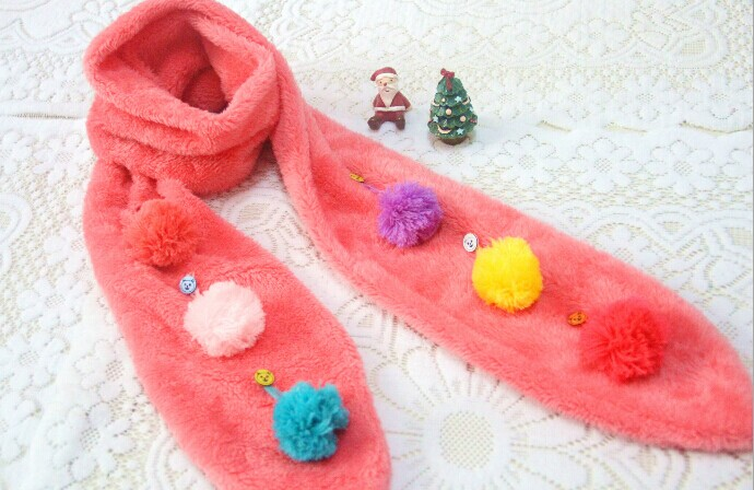 New Design Super Soft Children Scarves Online