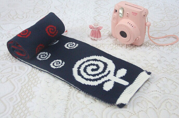 Winter Knitted Patterned Kids Scarves Wholesale