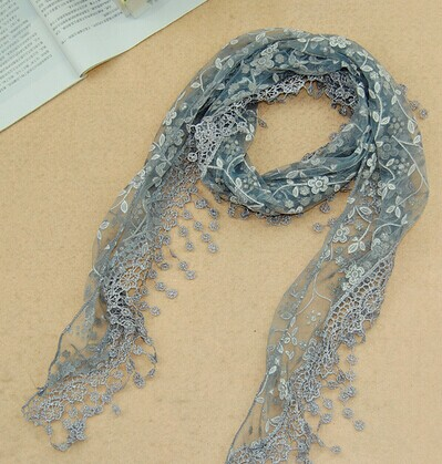 Low price lace scarf on sale