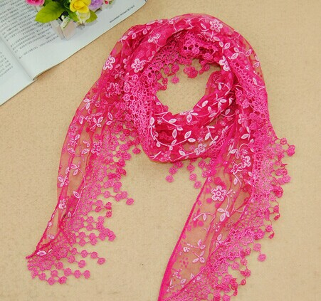 Low price lace scarf on sale - Click Image to Close
