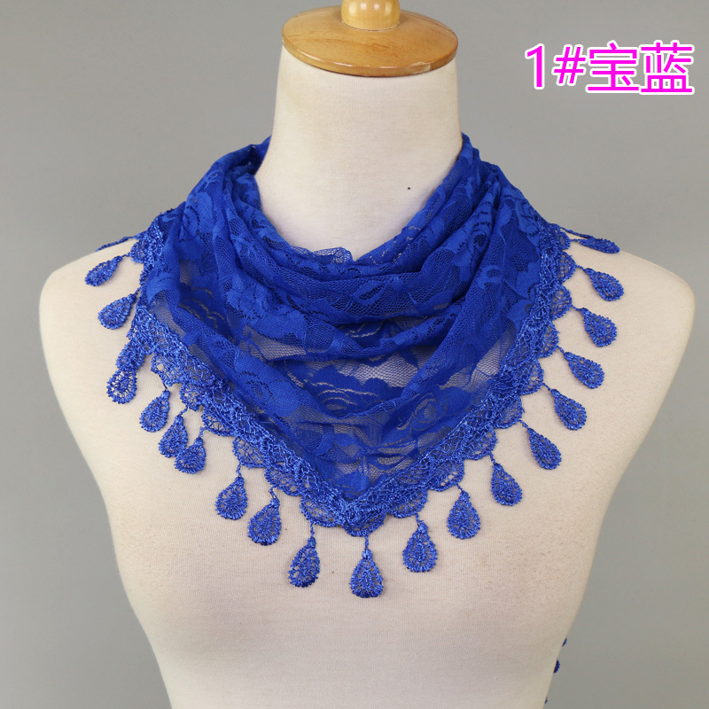 2017 New Lace Scarf