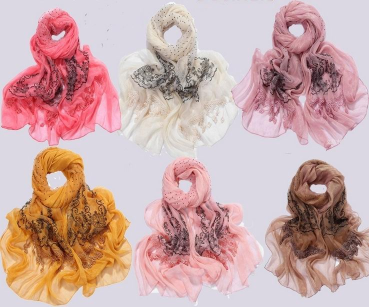 SEO_COMMON_KEYWORDS New Trendy Lace Scarf/Wrap Wholesale