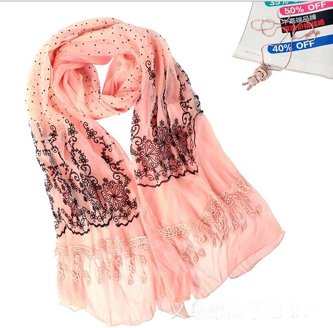 New Trendy Lace Scarf/Wrap Wholesale