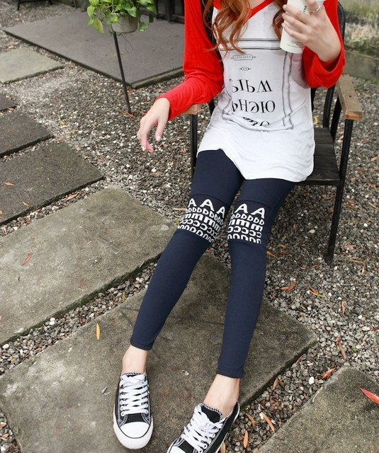 Fashion Knited Patterned Leggings Outfit Wholesale