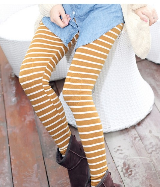 Colorful Striped Leggings for Girls Online Sale
