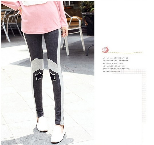 SEO_COMMON_KEYWORDS Fashion Star Patch Girls Tight Leggings on Sale