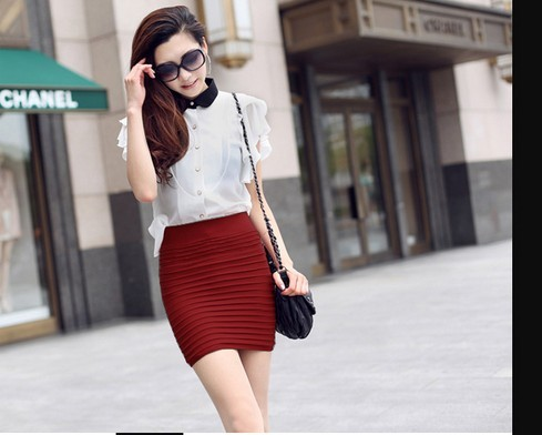 Slimming Straight Skirt Legging Outfit Cheap on Sale
