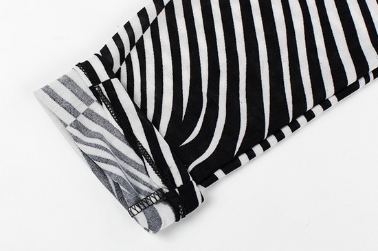 Fashion Slimming Zebra Women Leggings on Sale - Click Image to Close