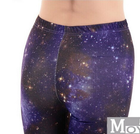 Fashion Starry Sky Space Leggings for Women