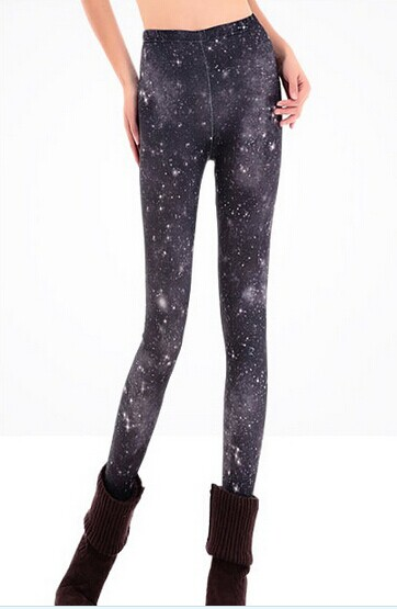 Night Sky Space Leggings for Women Wholesale - Click Image to Close