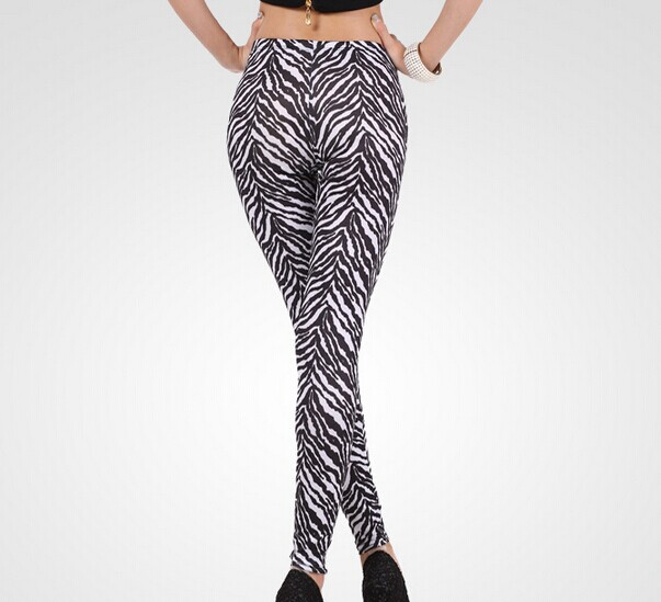 Women Zebra Leggings Online Cheap Wholesale