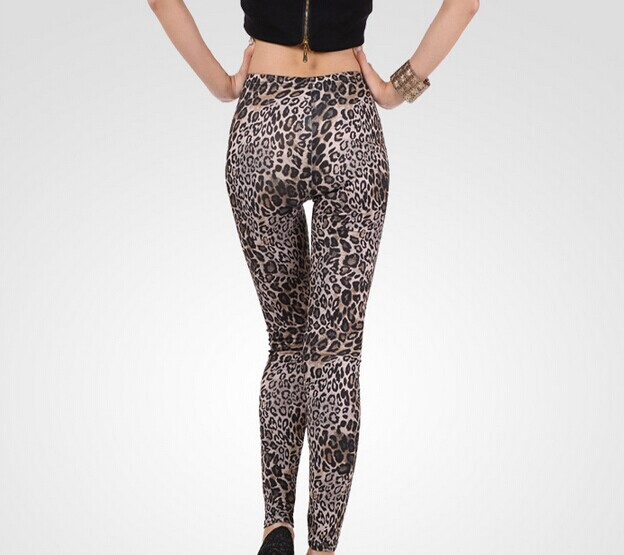 Designer Slimming Leopard Leggings for Women