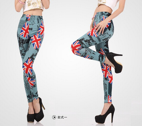 695d58bf0 Designer UK Flags Printed Ladies Tights Wholesale