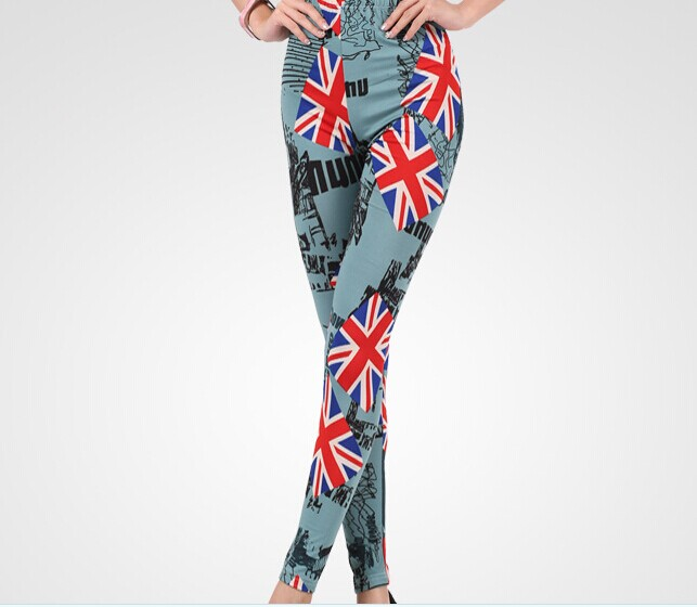 Designer UK Flags Printed Ladies Tights Wholesale