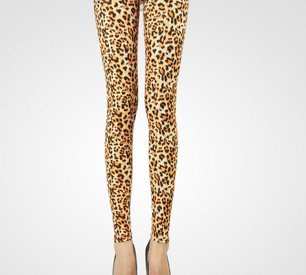 Popular Women Best Slimming Leopard Leggings