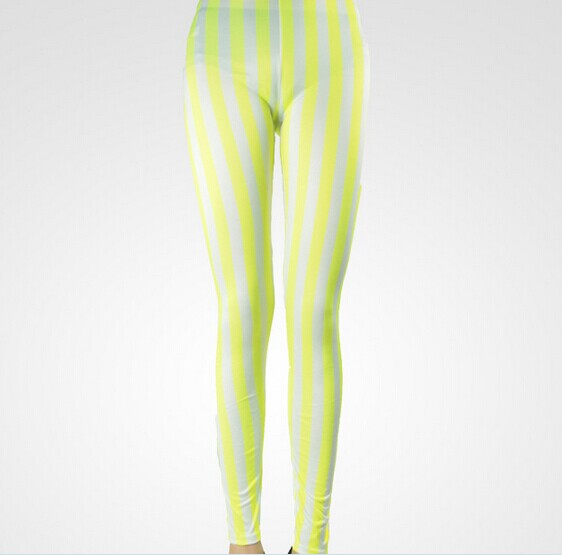 Colorful Striped Tights Outfits Online Wholesale