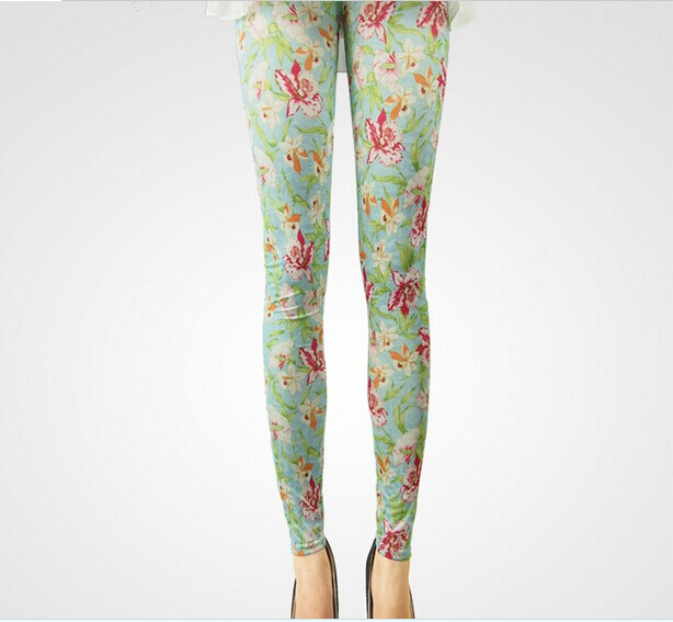 SEO_COMMON_KEYWORDS Fashion Floral Leggings for Women Wholesale UK