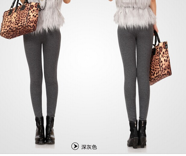 Winter Thick Knitted Fleece Lined Leggings Online
