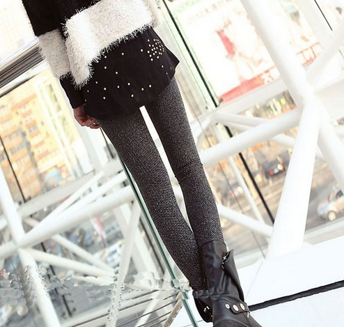 Sequin leggings with assorted color wholesale