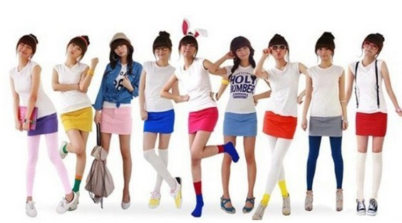 SEO_COMMON_KEYWORDS Multi color girls fashion short leggings for summer