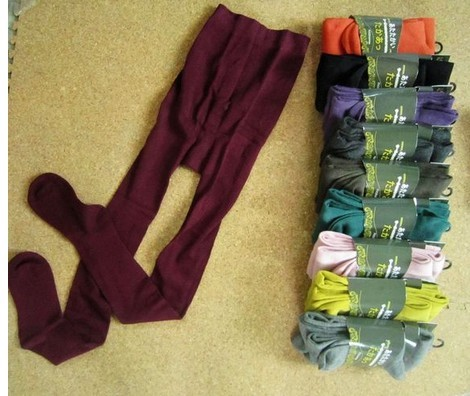 Multi color tight soucks for ladies
