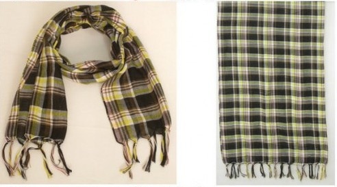 2012 Winter scarf polyester for men