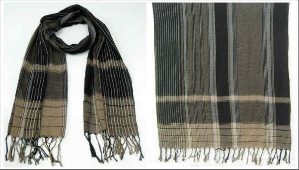 Elegance Voile scarf oversized design accessories uk