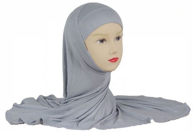Muslim new style plain cotton jersey HEAD SCARF
