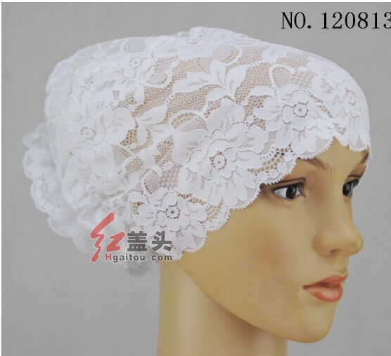 Cheap Lace head scarf for muslim women