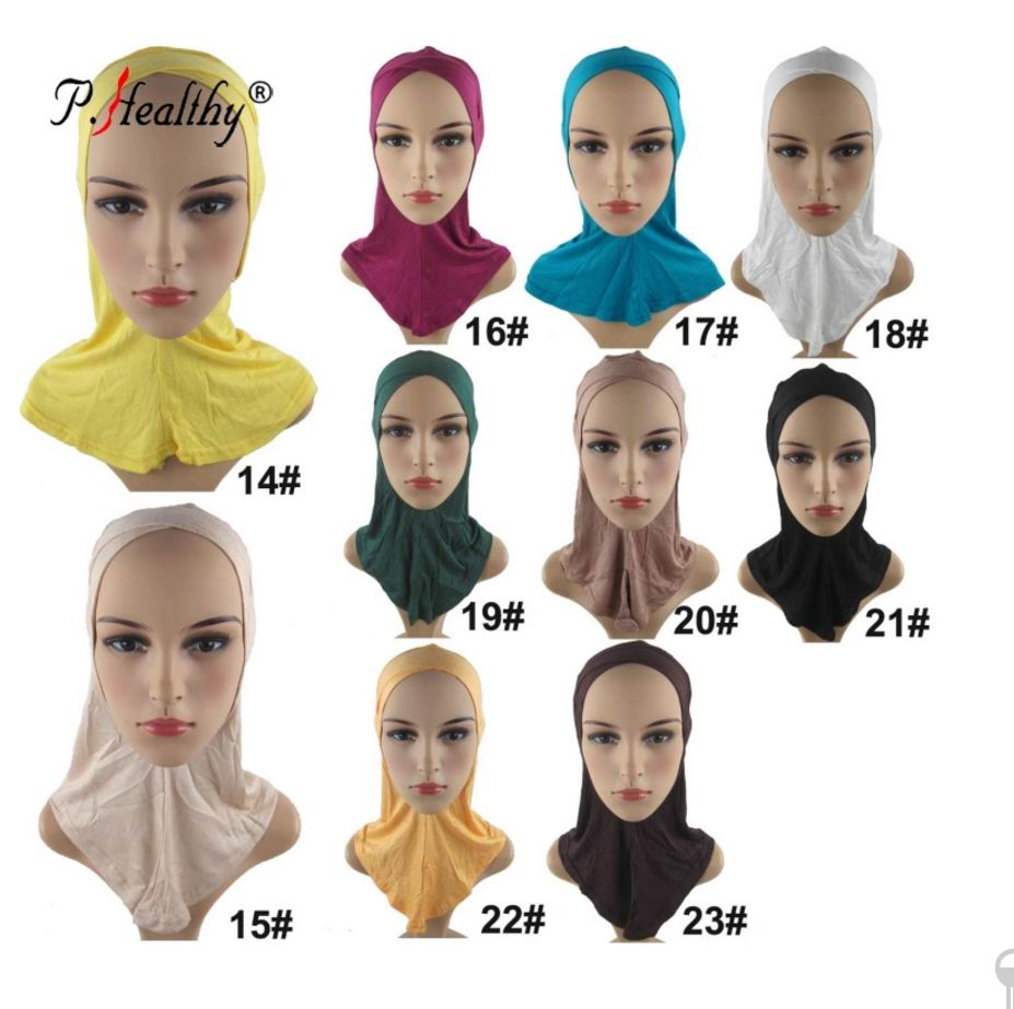 1 18 Cross Over Ninja Inner Hijab under scarf