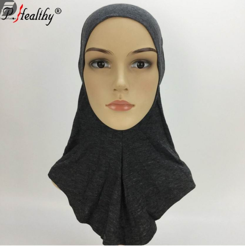 1 18 Plain Ninja Inner Hijab Under scarf